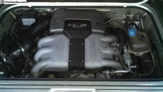 Subaru Boxer Engine >> 1991 Volkswagen Vanagon Syncro w/ SVX Swap – German Cars For Sale Blog