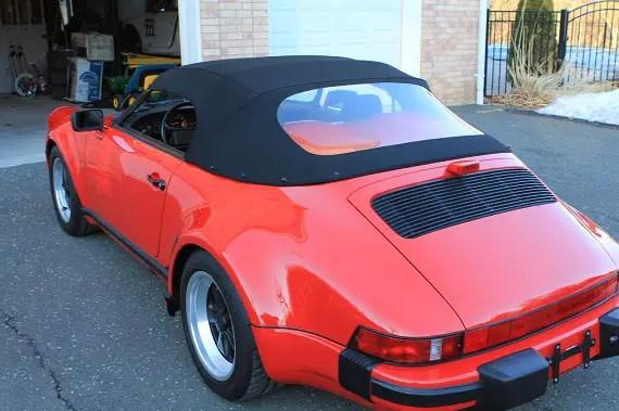 1989 Porsche 911 Speedster German Cars For Sale Blog