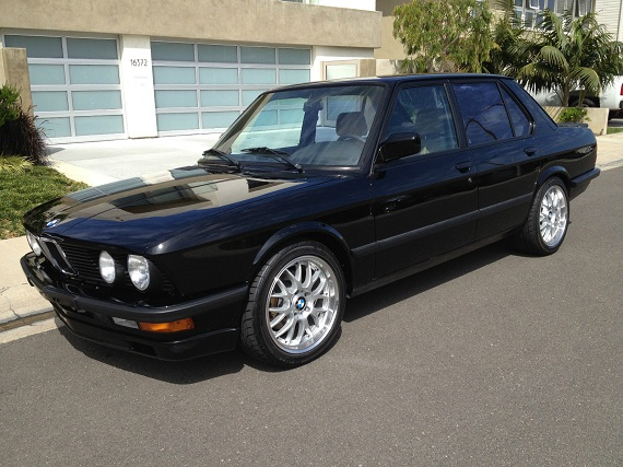 1988 bmw m5 german cars for sale blog. Black Bedroom Furniture Sets. Home Design Ideas