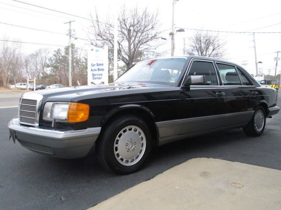 1987 mercedes benz 560sel with 50k miles german cars for for Mercedes benz 1987 for sale