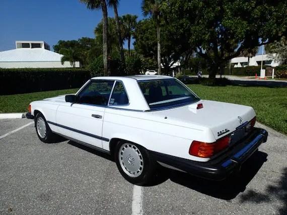 1986 Mercedes Benz 560sl German Cars For Sale Blog
