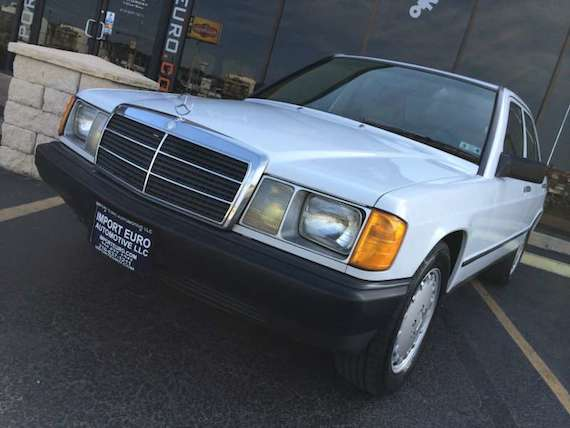1986 mercedes benz 190d 5 speed manual german cars for for Mercedes benz 190d for sale