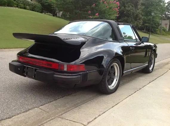 1986 Porsche 911 Carrera Targa German Cars For Sale Blog