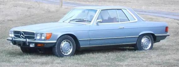 1973 mercedes benz 450slc with 33 000 miles german cars for sale blog. Black Bedroom Furniture Sets. Home Design Ideas