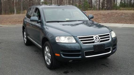 2004 volkswagen touareg v10 tdi german cars for sale blog. Black Bedroom Furniture Sets. Home Design Ideas
