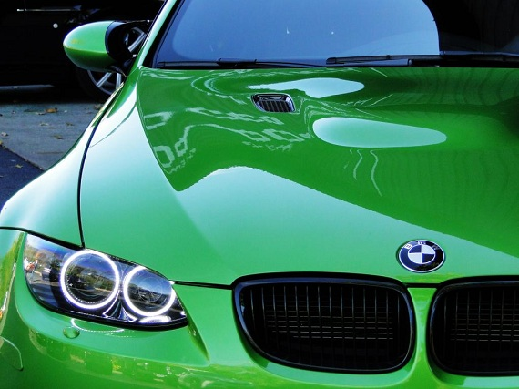 Green with Envy: 2013 BMW M3 Individual Java Green ...