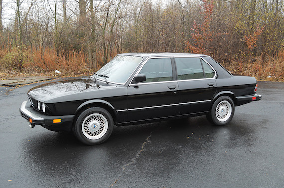 1986 Bmw 535i German Cars For Sale Blog