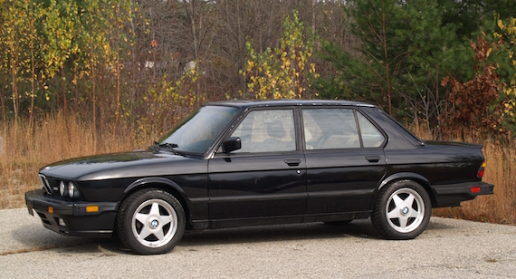 1988 Bmw M5 German Cars For Sale Blog