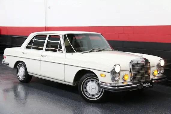 1972 Mercedes Benz 280se German Cars For Sale Blog