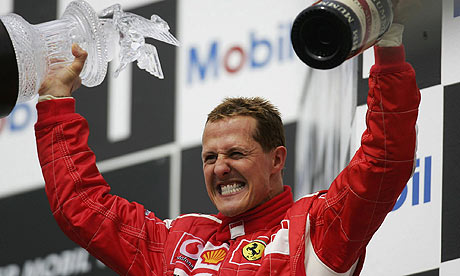 Michael Schumacher - 7-time World Champion F1 Driver ...