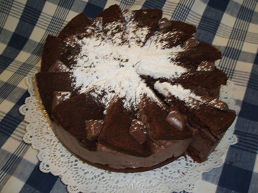 Chocolade-Mouse-Torte