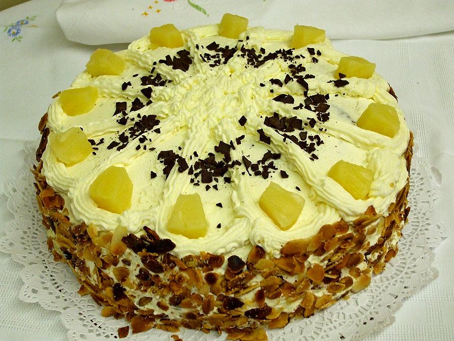 pineapple-torte