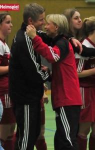 Die beiden Trainer der Germanenteams Foto: Heimspiel online
