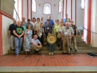 The group in St. Nicholas Church, Siegen, 2015