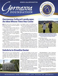 Germanna Foundation Newsletter, Spring 2014