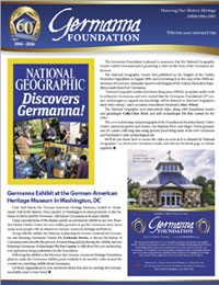Winter 2016 Germanna Newsletter