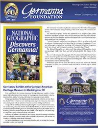 Winter 2016 Germanna Newsletter