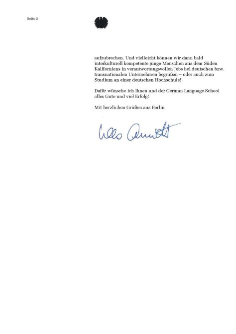Vizepraesidentin des Deutschen Bundestages Ulla Schmidt Page 2