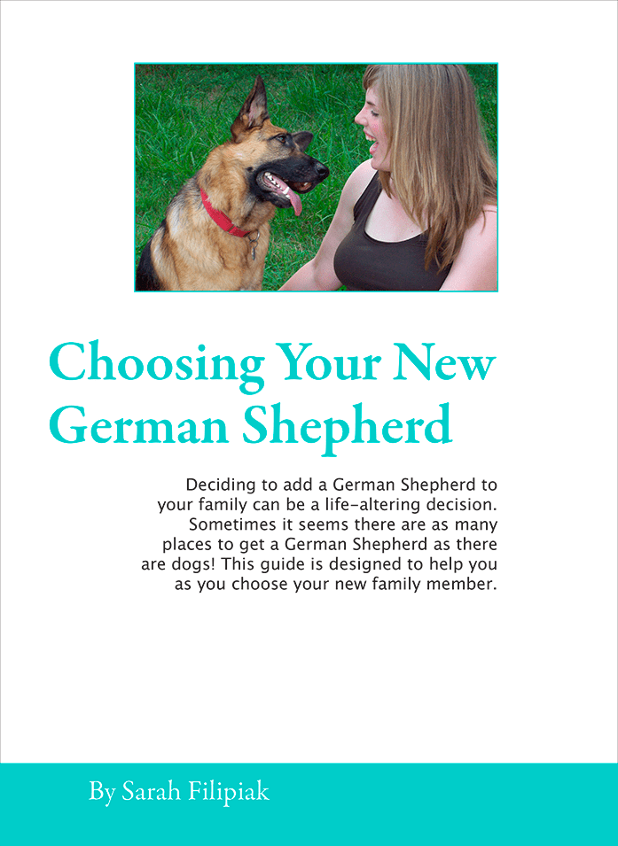 Free ebook: Choosing Your New German Shepherd