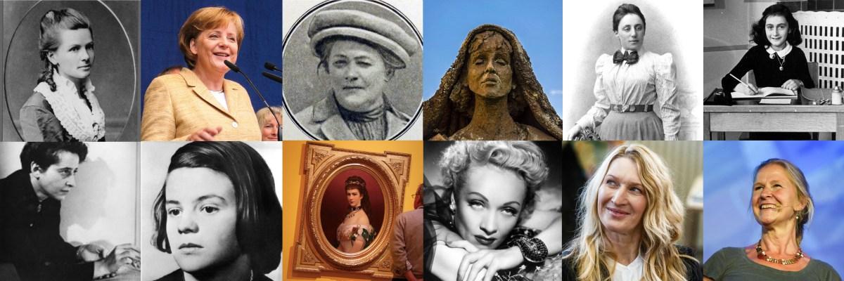 12 German women who influenced the world