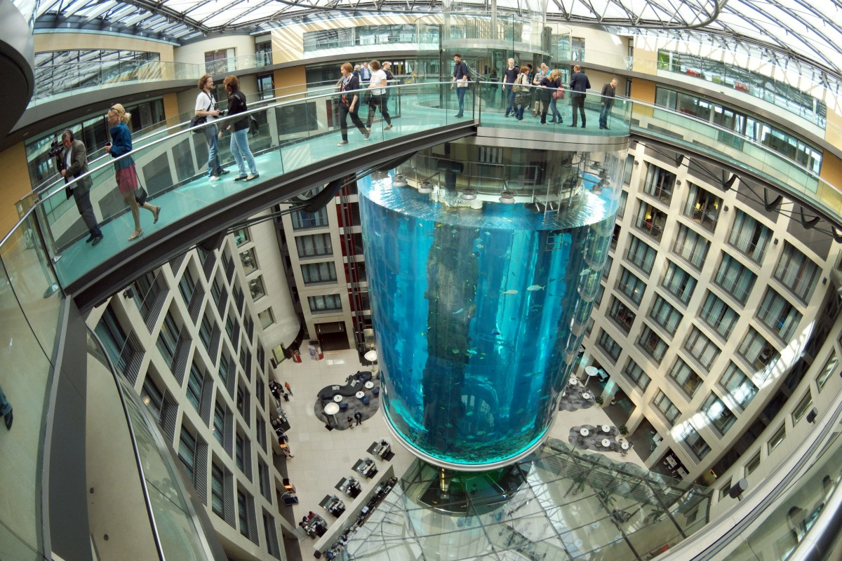 Travel Tuesday: Berlin's AquaDom