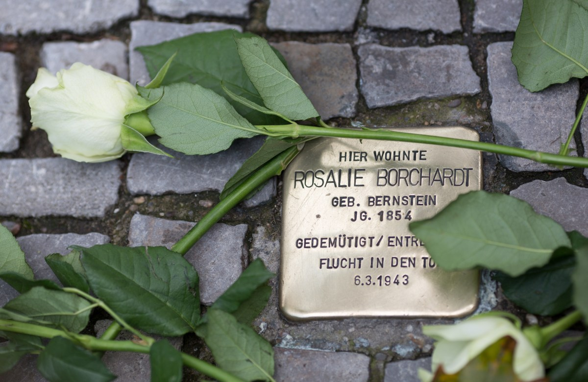 Stolpersteine: Stumbling Into History