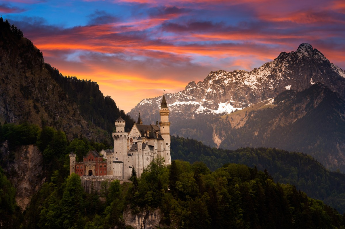 Germany: Home to more than 20,000 castles