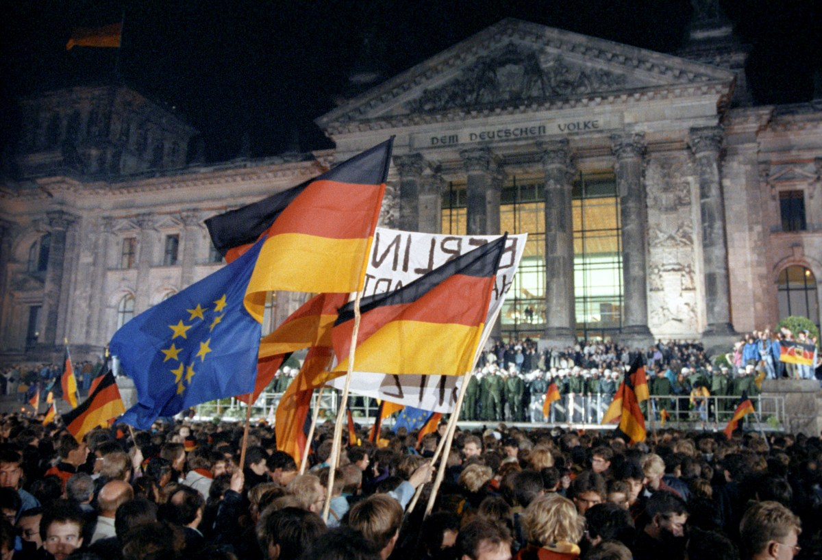 The history of Germany's national holiday (it wasn't always October 3)