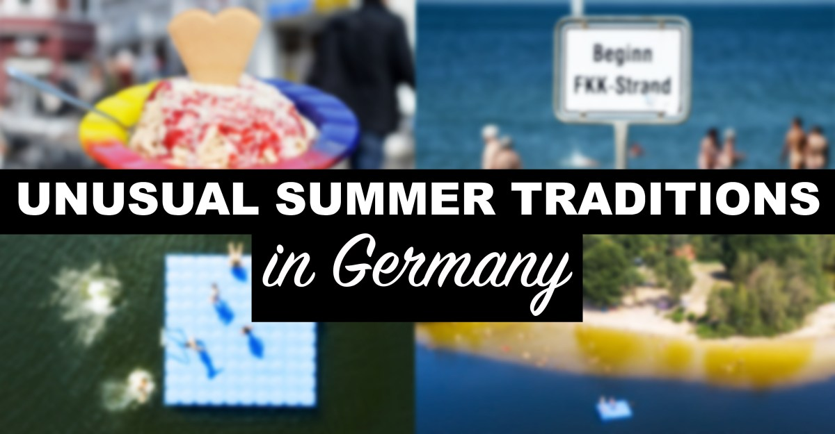 6 unique summer traditions in Germany