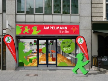 Ampelmann has inspired both retailers and restauranteurs
