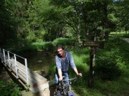 There's good walking and cycling by the Waldnaab