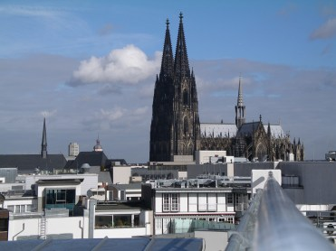Cologne: lumpish and low-rise, apart from the Cathedral