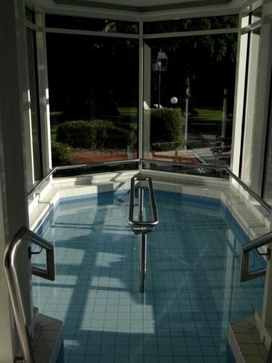 Kneipp pool for walking around in the Sebastineum