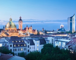 Leipzig is a city that mixes old and new © Michael Bader
