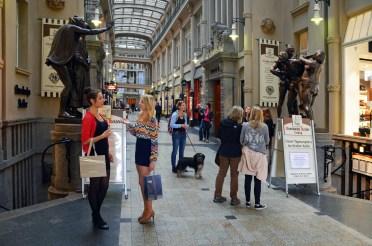 The Mädler Passage, one of several shopping arcades © LTM-Schmidt