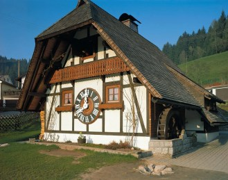 Schonach, biggest cuckoo clock in the world. Black Forest