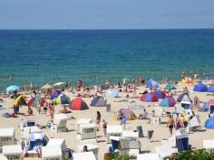 Beach in Westerland, Sylt