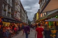 'Germany's longest bar', the Altstadt in Düsseldorf