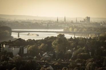 In a strategic Rhineside location