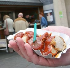 Currywurst at Bochum