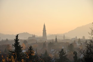 The city sits in the lee of the Black Forest