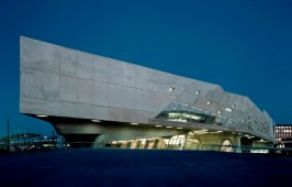 Museums and architecture in Germany: Phaeno in Wolfsburg