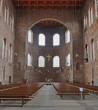 The largest intact single room Roman structure in the world: now the Konstantin Basilika