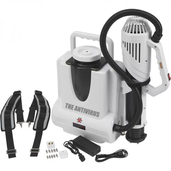 the antivirus electrostatic backpack sprayer