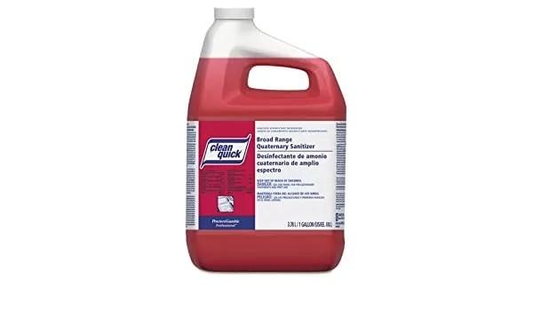 Clean Quick Quaternary Ammonium Sanitizer