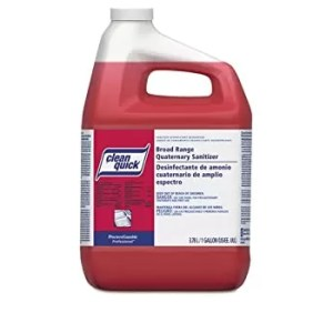 Clean Quick Quaternary Ammonium Sanitizer
