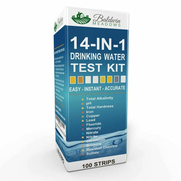 14-in-1 drinking water test kit