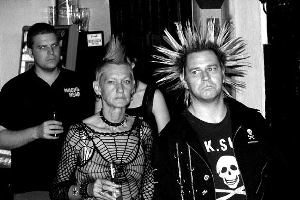 Punks by Daniel Morris (By - Sa)