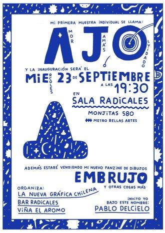 Pablo Del Cielo presenta AJO