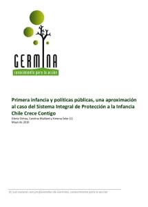 portada primera infancia políticas públicas, 2010
